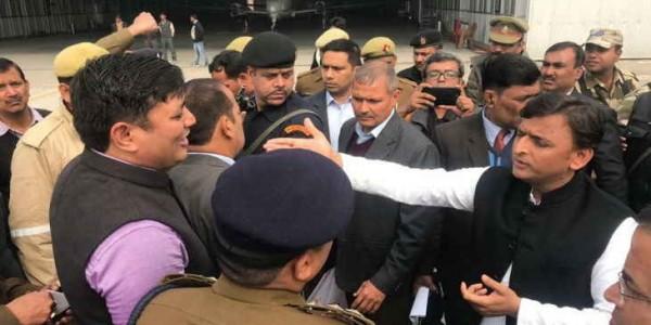 अखिलेश को एयरपोर्ट पर रोकने का मामला, सपाइयों पर लगाए गए गलत मुकदमे होंगे वापस
