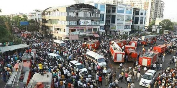 Rights Body Issues Notice To Gujarat Government Over Surat Fire