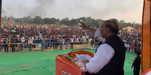 'BJP believes in fulfilling its promises'
