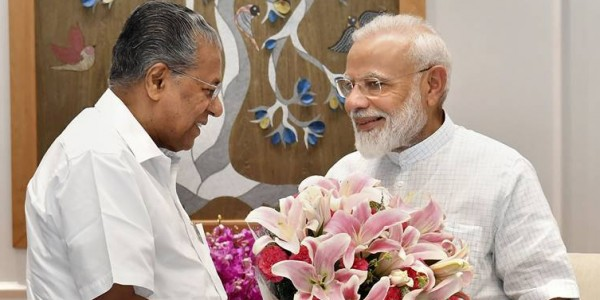 Kerala CM Vijayan meets Modi, raises issue of Thiruvananthapuram airport's privatisation