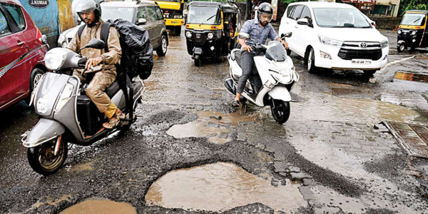 Will post pothole pics on Twitter: Nationalist Congress Party to BMC