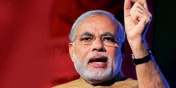 Modi Inaugurates The Garjee-Belonia Railway Line In Agartala, Biplab Deb Also Present