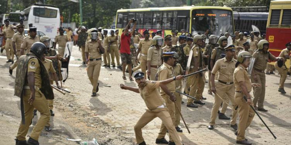 Sabarimala protests: Two Right-wing outfits call for 24-hour hartal; security tightened