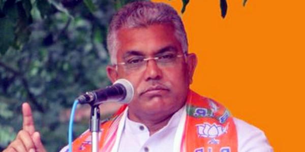 BJP समर्थकों को झूठे केस में फंसा रही है ममता सरकार: दिलीप घोष