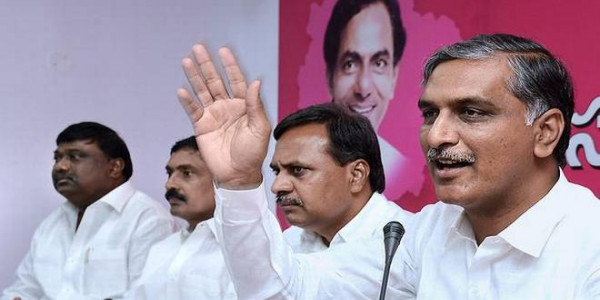 TRS launches broadside against Congress