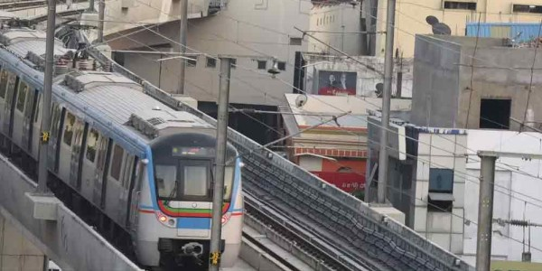 Hyderabad: Jubilee Hills check-post metro station inaugurated