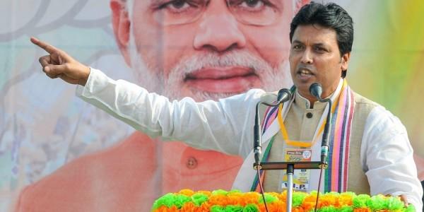 त्रिपुरा मुख्यमंत्री के निजी जीवन पर फेसबुक पोस्ट करने वाला व्यक्ति गिरफ़्तार