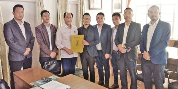 NSF delegation meets Nagaland CM, submits memo over SSB committee