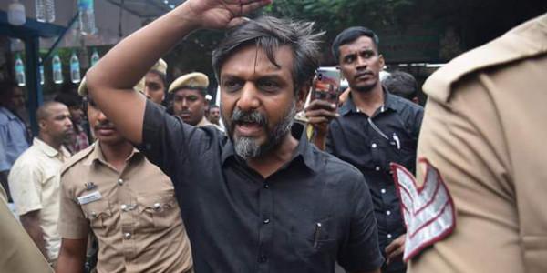 Activist Thirumurugan Gandhi released on bail after 53 days in prison