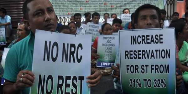 Tripura tribal party to launch 6-hour blockade on NH-08 against Citizenship amendment bill