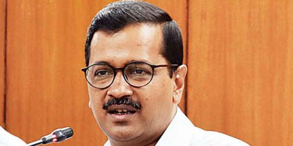 Sainik Nagar: Kejriwal inaugurates sewer work