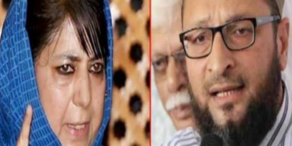 आतंकी के समर्थन में उतरे महबूबा-ओवैसी, मन्नान वानी को बताया कश्मीर हिंसा पीड़ित