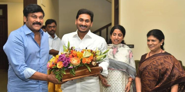 'Nothing Political About It': Chiranjeevi Luncheon Meet with Jagan Reddy Sparks Buzz