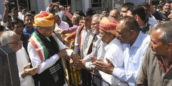 Rajasthan nominee list after Rahul visit