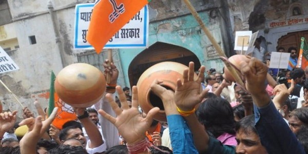जनता दो महीने तक पेयजल किल्लत से जूझती रही, प्री मानसून की आहट पर भाजपा को याद आया धरना-प्रदर्शन