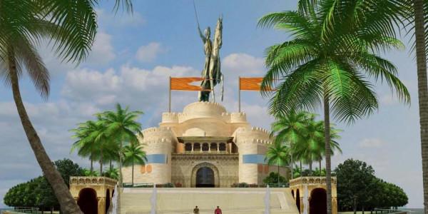 Maharashtra may split up Shivaji memorial project to lower cost