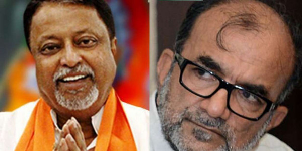 Calcutta High Court: CPI(M) leader Bikash Ranjan Bhattacharya appears as Mukul Roy's lawyer