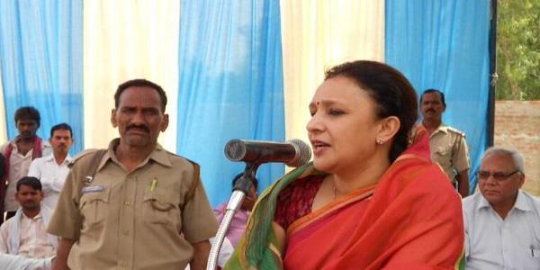 ''सबका साथ सबका विकास'' नारा कांग्रेस का, जिसे बीजेपी ने कर लिया चोरीः आराधना