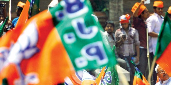 BJP ran negative campaign to hide its failures, alleges Congress