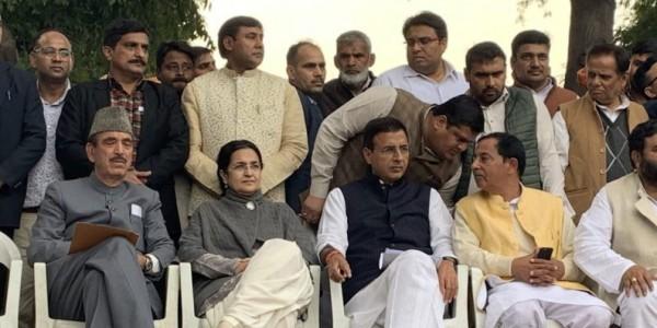 जेडीयू के हरियाणा अध्यक्ष राव कमलबीर सिंह ने कांग्रेस पार्टी ज्वाइन की