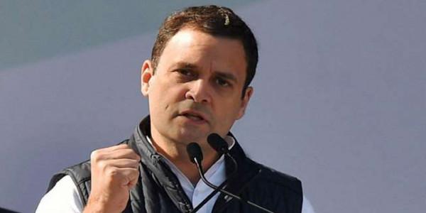 मैं झूठे वादे करने नहीं आया, मेरा नाम मोदी नहीं है- राहुल गांधी