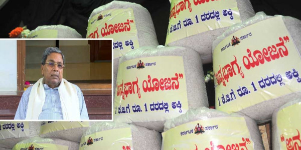 Siddaramaiah warns of protests if rice quantity is cut under Anna Bhagya scheme