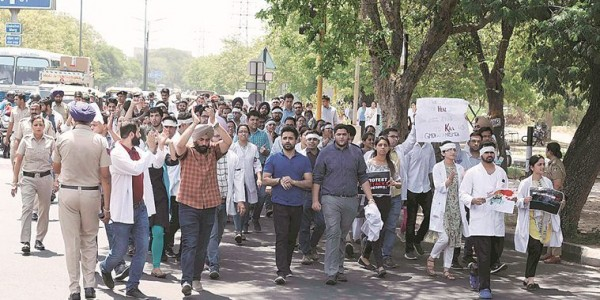 Chandigarh: GMCH-32 doctors join protest, patients bear the brunt of strike