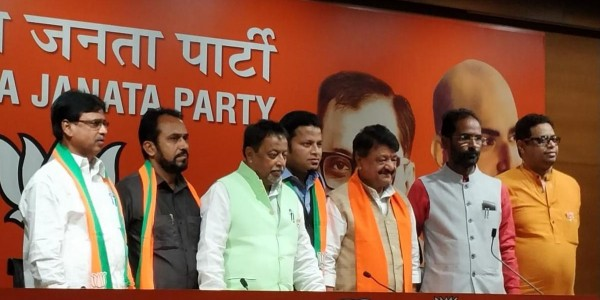 Expelled Trinamool Congress legislator Anupam Hazra, two sitting MLAs join BJP