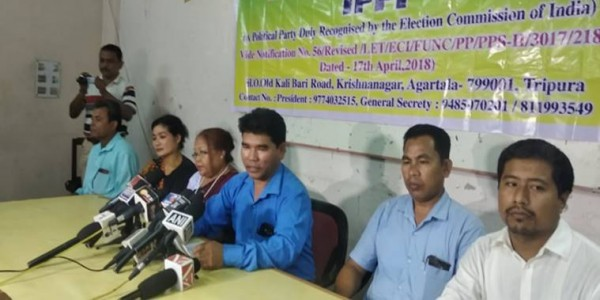 Tripura: IPFT alleges ally BJP behind attacks on workers, threatens to look for 'alternative ways'