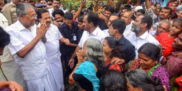CM Pinarayi Vijayan to review relief camps, Goa announces Rs 5 crore aid