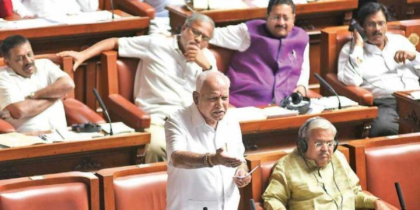 yeddyurappa-makes-offence-his-defence-cm-kumaraswamy-responds