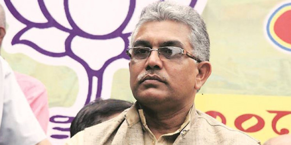 Day will come when we will strip you of your uniforms: Dilip Ghosh to Kolkata Police