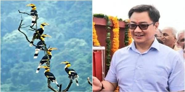 किरेन रिजिजू कहते हैं कि पश्चिम बंगाल से तस्वीर लेकर अरुणाचल प्रदेश में आपका स्वागत है