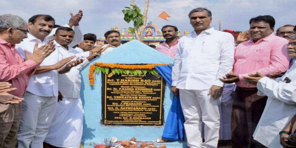 Foundation stone laid for watershed project