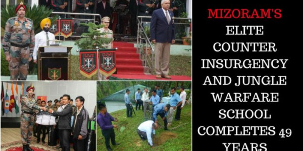 Mizoram's elite Counter Insurgency and Jungle Warfare School completes 49 years