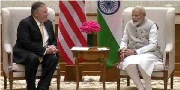 दिल्ली में PM मोदी से मिले माइक पोम्पियो, क्या ईरान-आतंकवाद पर बनेगी बात?