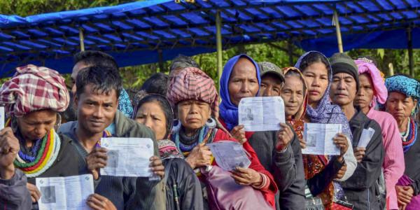 80% voter turnout keeps congress' hopes afloat in Mizoram polls