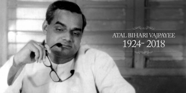 Tributes pour in for former PM Atal Bihari Vajpayee on first death anniversary