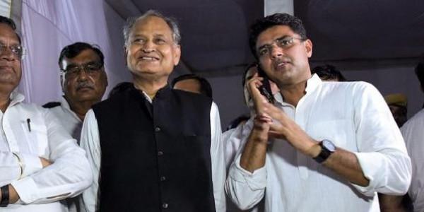 राजस्थान चुनाव परिणाम 2018: पायलट-गहलोत में सीएम पद पर खींचतान, राहुल ने टाली प्रेस कांफ्रेंस