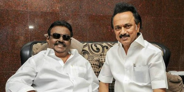 DMK requests Congress to give up a seat for DMDK