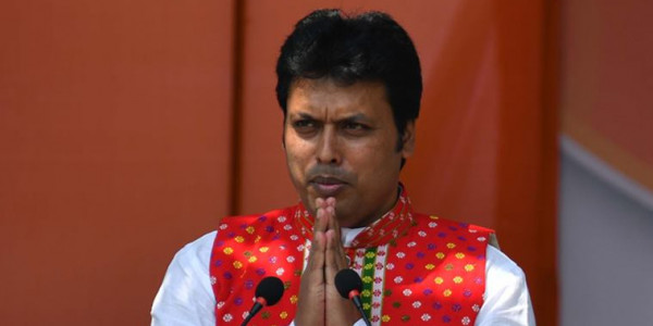 biplab-deb-wants-to-develop-tripura-police-as-best-in-country-changes-tsr-uniform
