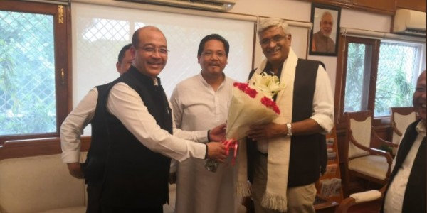 Centre assured support to Meghalaya water policy, says Conrad Sangma
