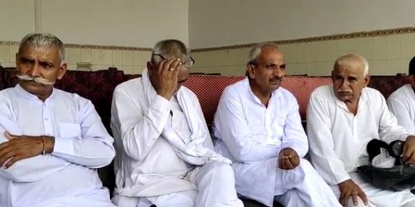 बहादुरगढ़ के विधायक नरेश कौशिक पर लोगों ने लगाए गंभीर आरोप