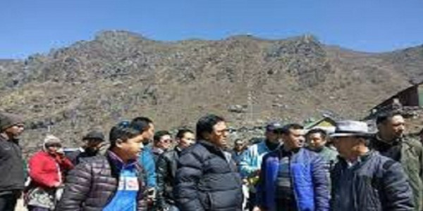 Tourism Department Team Inspects Ongoing Projects in North Sikkim