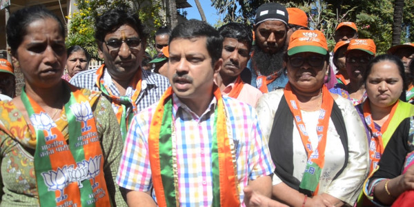 BJP accuses activist group of selective targeting