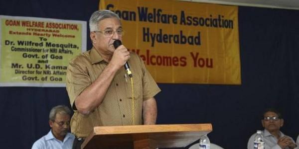 Former Goa minister Wilfred Mesquita passes away