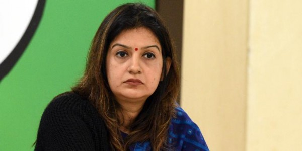 नाराज प्रियंका चतुर्वेदी ने कांग्रेस पार्टी के सभी पदों से दिया इस्तीफा