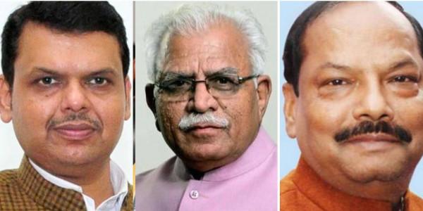 महाराष्ट्र, हरियाणा, झारखंड में तीन-चौथाई सीटों पर बीजेपी की नज़र