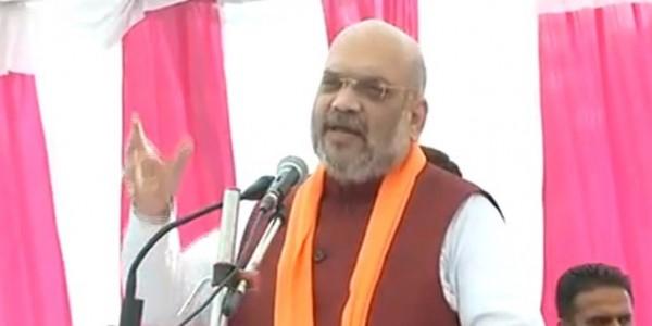 भाजपा अध्यक्ष अमित शाह आज राजस्थान में, तीन सभाओं को करेंगे संबोधित