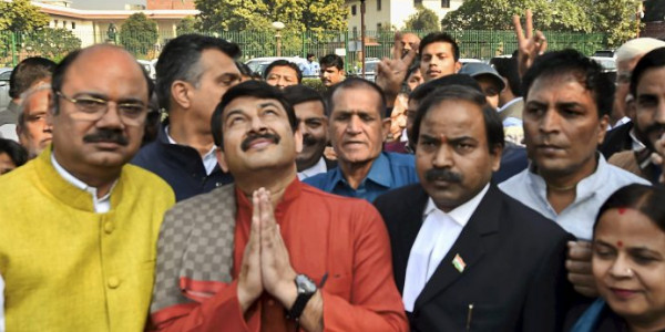 RSS is not happy with Manoj Tiwari, fears Delhi BJP could lose polls under him